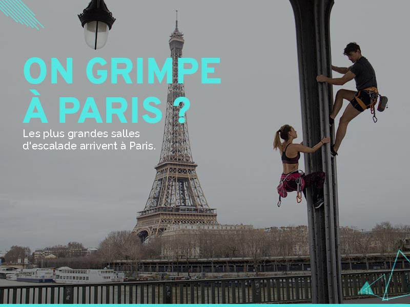 Crowdfunding salle escalade Climb Up Paris